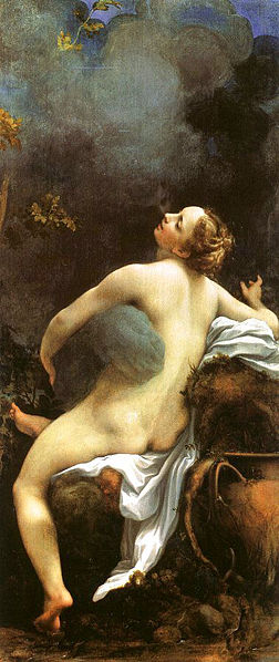 Zeus and Io Correggio